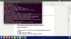 android studio ubuntu how to install android studio on ubuntu 16 04lts 15 10 15 04