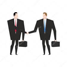 activit de bureau activité de transaction gestionnaires se serrant la poignée