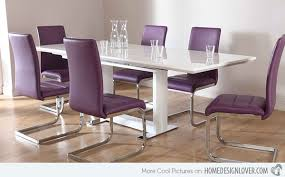 Posh Purple Dining Room Furniture Home Design Lover - Purple dining room