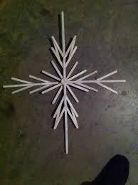 diy christmas snowflake craft one if this years family christmas