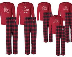 personalized pajamas etsy ca