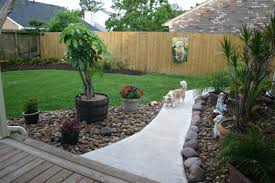 Backyard Paradise Ideas Triyae Com U003d Dog Backyard Landscape Ideas Various Design