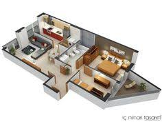 Two Bedroom House Plans by 50 One U201c1 U201d Bedroom Apartment House Plans Bedroom Apartment