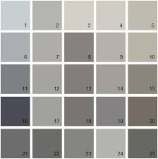 benjamin moore paint colors gray palette 09 house paint colors