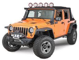 jeep fender flares jk rugged ridge 11640 10 hurricane flat fender flares for 07 17 jeep