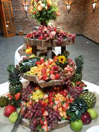fruit table display ideas displays on pinterest catering buffet food displays and scallop