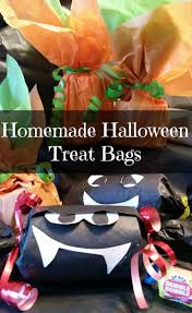 homemade halloween treat bags momma young at home