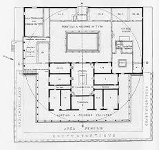 Fort Drum Housing Floor Plans Villa Of The Mysteries Floor Plan After Vesuvius Pinterest