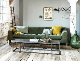 Livingroom Club by Industrial Living Room With Pops Of Green And Yellow And A Wooden