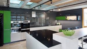 black backsplash in kitchen award winning poggenpohl kitchen with black backsplash makes the