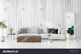 livingroom in modern interior design livingroom vogue plant stock illustration