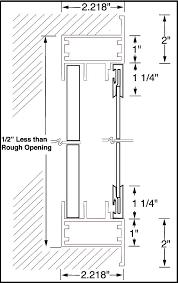 with sliding doors