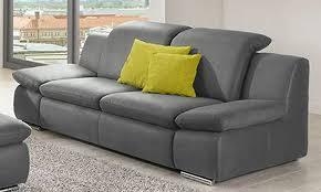 zweisitzer sofa g nstig sofa la isla grau 2 sitzer lederoptik polstergarnitur