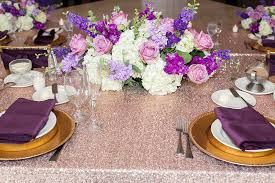 eggplant colored table linens weddings archives luxe event linen