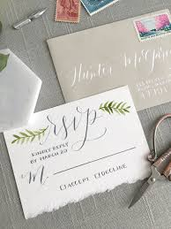 Wedding Invitations With Rsvp Cards Included 6 Common Questions About Wedding Rsvp Cards U2014 Elisaanne Calligraphy