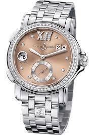 ladies watches bracelet style images Ulysse nardin classic dual time lady ss dia bez bracelet jpg
