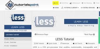 bootstrap tutorial tutorialspoint tutorials point less tutorial on air code