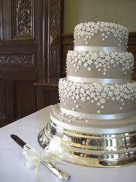 silver wedding cakes wedding cake