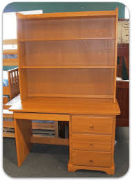 Pine Desk With Hutch Pine Office Desk Collection