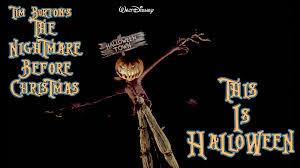 happy halloween nightmare before christmas