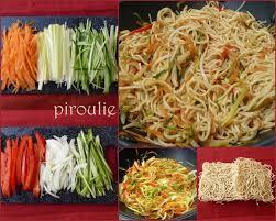 comment cuisiner des nouilles nouilles asiatiques 2 versions végétariennes ou au poulet