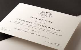 Invitation Business Cards Invitation Mount Street Printers