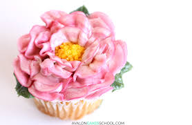 Peonies Delivery How To Make Buttercream Flower Cupcakes U2022 Avalon Cakes