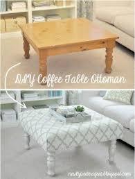 Table Ottoman Fabric Coffee Table Ottoman Foter