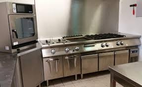 cuisine industrielle inox cuisine professionnelle inox unique aménagement de cuisine
