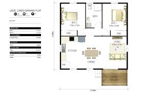 Two Bedroom Granny Flat Floor Plans Granny Flats Force 10