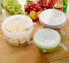 silicone cuisine reusable silicone stretch lid keeping food fresh silicone suction