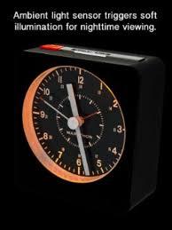 night light alarm clock marathon alarm clock with night light silent running movement