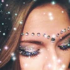 Eye Decorations The 25 Best Face Jewels Ideas On Pinterest Jewel Makeup