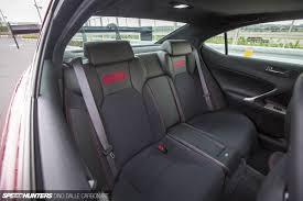 lexus gsf seats lexon reinvents the lexus is f speedhunters