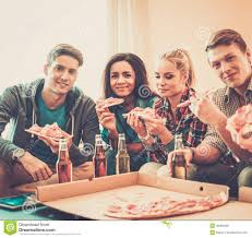 multi ethnic friends having party stock photo image 40984368