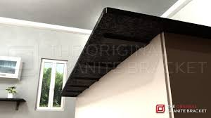 Support For Granite Bar Top Amazon Com Countertop Support Bracket 13
