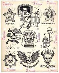 i am very fascinated with russian criminal tattoos someday i