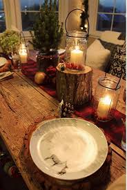 Christmas Dinner Table Decoration Ideas Pinterest by
