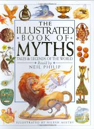 illustrated book of myths neil philip nilesh mistry