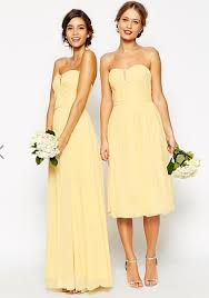 lemon bridesmaid dress local classifieds buy and sell in the uk