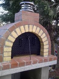 the schelzi family wood fired brick pizza oven in massachusetts