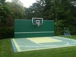 Backyard Sports Court by Sport Court Backyard Tennis Court Build Your Backyard Tennis