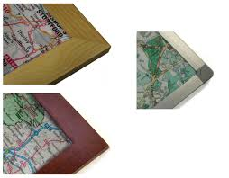 Map Paper County Wall Map Paper Laminated Or Mounted On Pin Board And Framed