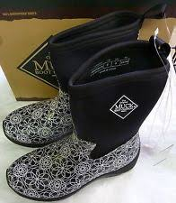 s muck boots canada muck arctic weekend solid mid boot for size 9 swirl print ebay