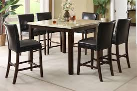 tall kitchen table sets classic dining room design with round