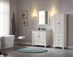 White 36 Bathroom Vanity by 36