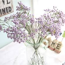 silk baby s breath 2017 new artificial babys breath gypsophila silk flowers
