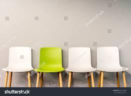 chairs modern design arranged front gradient stock photo 465705089