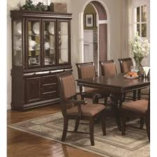 dining room sets with china cabinet merlot china cabinet by crown mark texas furniture hut