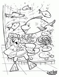 fish tank coloring page coloring home